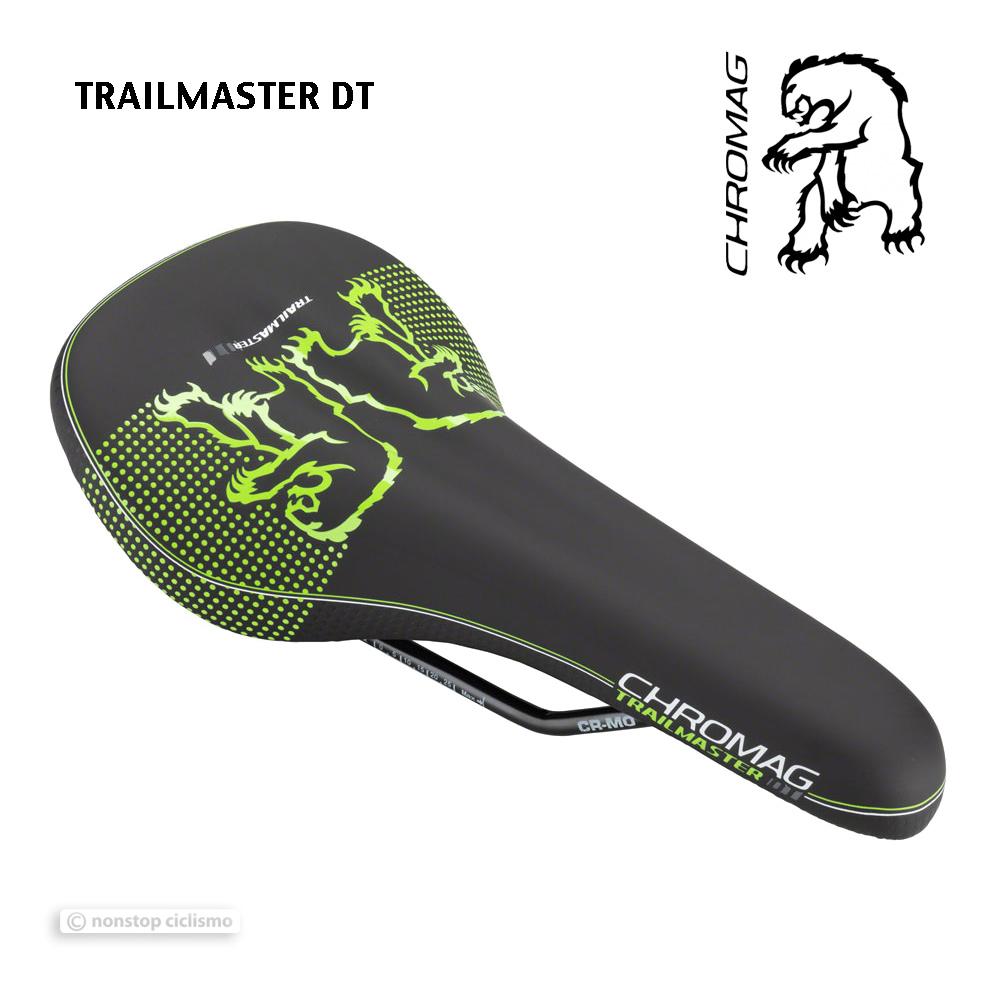 Nuevo Chromag TRAILMASTER DT Bicicleta De Montaña Bicicleta De Montaña  Sillín  Negro verde  el mas de moda